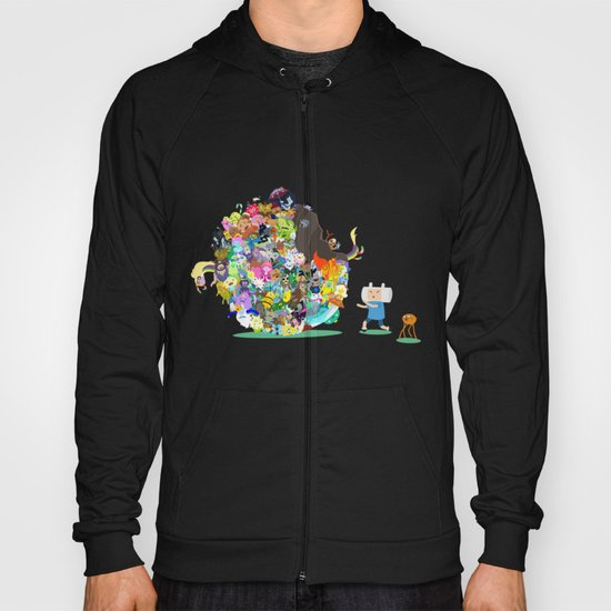 Adventure Time - Land of Ooo Katamari Hoody