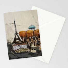 Foucalt in Paris Stationery Cards
