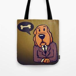 Dog News Tote Bag