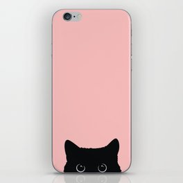 Black Cat iPhone Skin