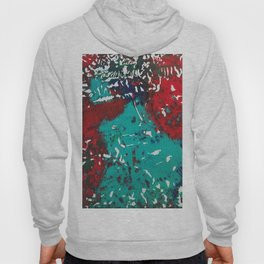 Abstracted Wolf and Kitten Hoody