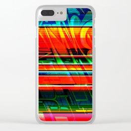 PastPresent Clear iPhone Case