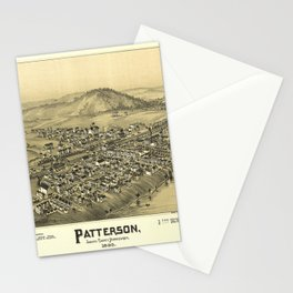 Aerial View of Patterson (Mifflin), Pennsylvania (1895) Stationery Cards