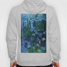 Claude Monet Water Lilies / Nymphéas deep Hoody