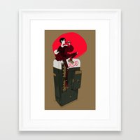 durarara Framed Art Prints featuring Pepsi Cola by rhymewithrachel