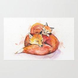 Foucault's Foxes Rug