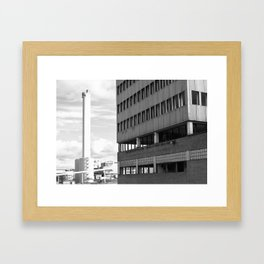 Ivory tower. Framed Art Print