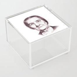 Golda Meir Acrylic Box