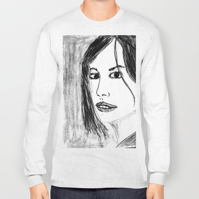 THE UNKNOWN GIRL Long Sleeve T-shirt