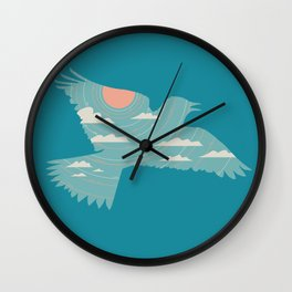 Skylark Wall Clock