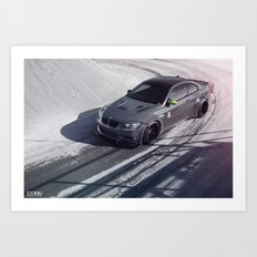 Liberty Walk BMW M3 Art Print