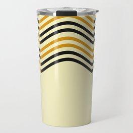 Abstract Shapes Pattern Travel Mug
