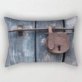 Padlock III Rectangular Pillow