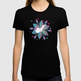 Colorful shofar with patterns T-shirt