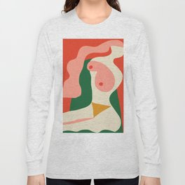 abstract nude 2 Long Sleeve T-shirt