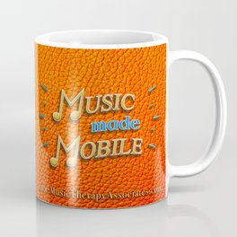 Music made Mobile (Yellow/Blue) Coffee Mug