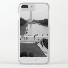 Freedom of Education Clear iPhone Case