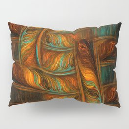 Abstract Totem Pillow Sham