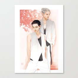 Moments: Victuuri Canvas Print