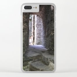 Kidwelly Castle Series - Kidwelly, Wales Clear iPhone Case