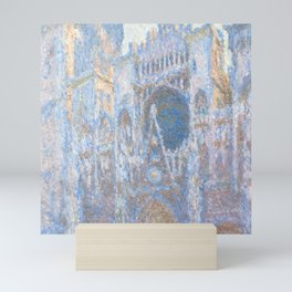 "Claude Monet ""Rouen Cathedral, West Façade"" Mini Art Print"