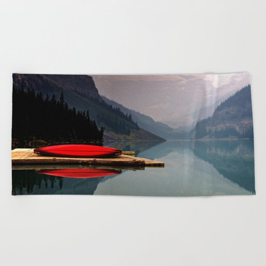 landscape of gods Beach Towel