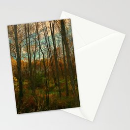 Fall Encroachment Stationery Cards