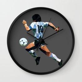 El Diez Wall Clock