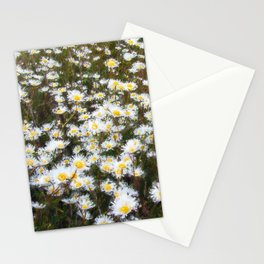 Ox-eye daisies II Stationery Cards