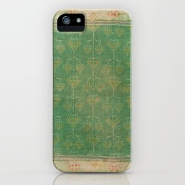 Vintage pattern iPhone Case