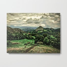 Picos de Europa, Spain Metal Print