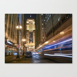 Chicago Board of Trails Canvas Print