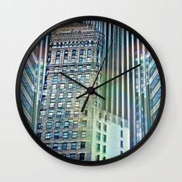 San Francisco Buildings Wall Clock