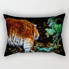 Tiger Fractal animal Fractal tiger Rectangular Pillow