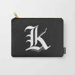 Letter K Carry-All Pouch