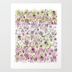 TATTOOS LOVE Art Print
