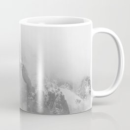 Rocky Mountain Fog B&W Coffee Mug