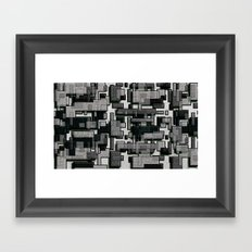 Cubish Framed Art Print