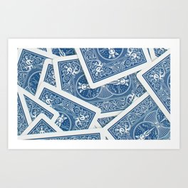 Playing Cards Player Art Print