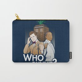 Who Dunnit? Carry-All Pouch