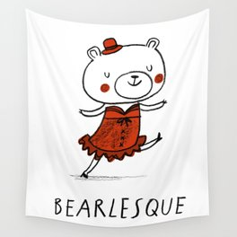 Bearlesque Wall Tapestry