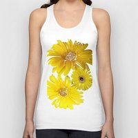 daisies Tank Tops featuring Daisies by Regan's World