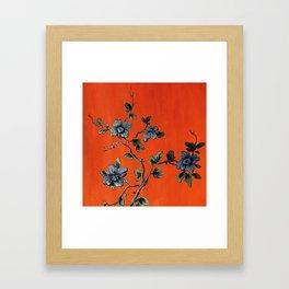 Green Ivy Framed Art Print