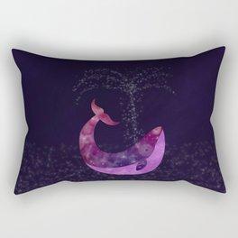 Galaxy Whale Rectangular Pillow