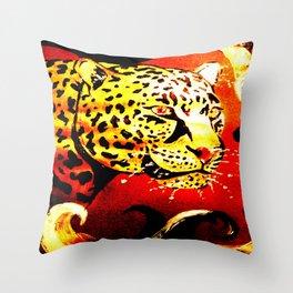 Metallic Glow Throw Pillow