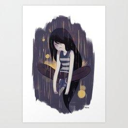 Marceline the Vampire Queen Art Print