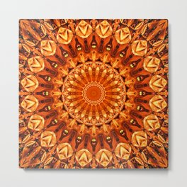 Mandala energy no. 2 Metal Print