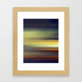 purple abstract Framed Art Print