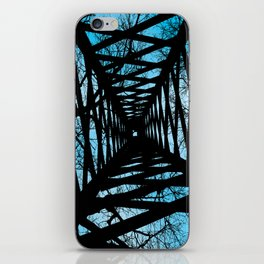 Caged up to heaven iPhone Skin