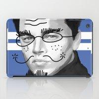 leonardo dicaprio iPad Cases featuring Leonardo DiCaprio by Pazu Cheng